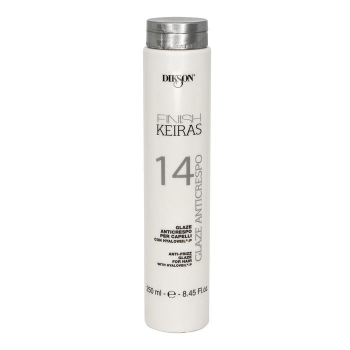 Глазурь без фиксации Dikson Keiras Finish для распутывания волос 14 Glaze anticrespo, 250 мл