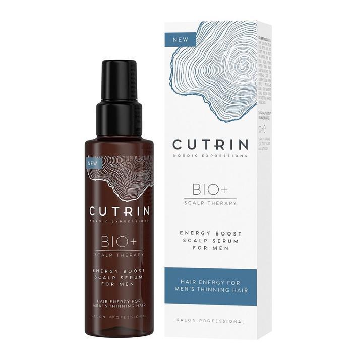Сыворотка-бустер для укрепления волос Cutrin Bio+ Energy Boost for men, 100 мл