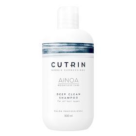 Шампунь для глубокого очищения волос Cutrin Ainoa Deep clean, 300 мл