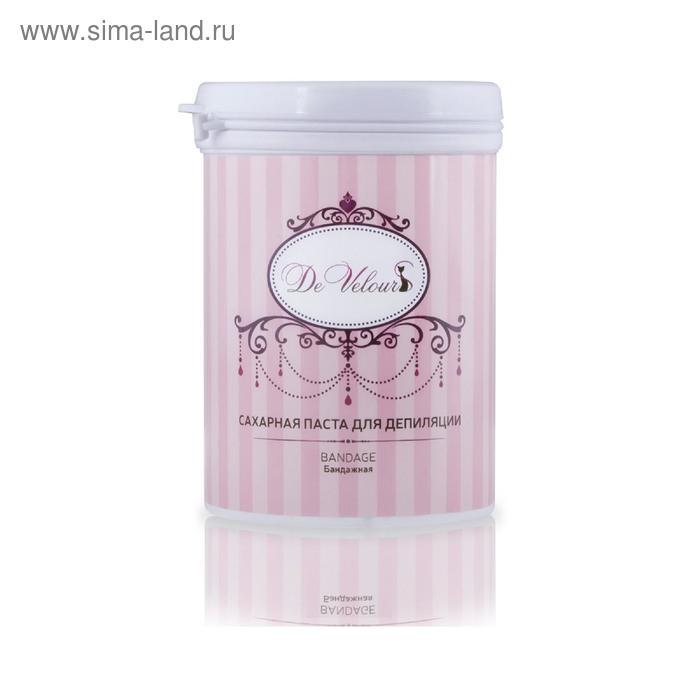 Паста сахарная для депиляции De Velour «Шугаринг» бандажная, 330 мл