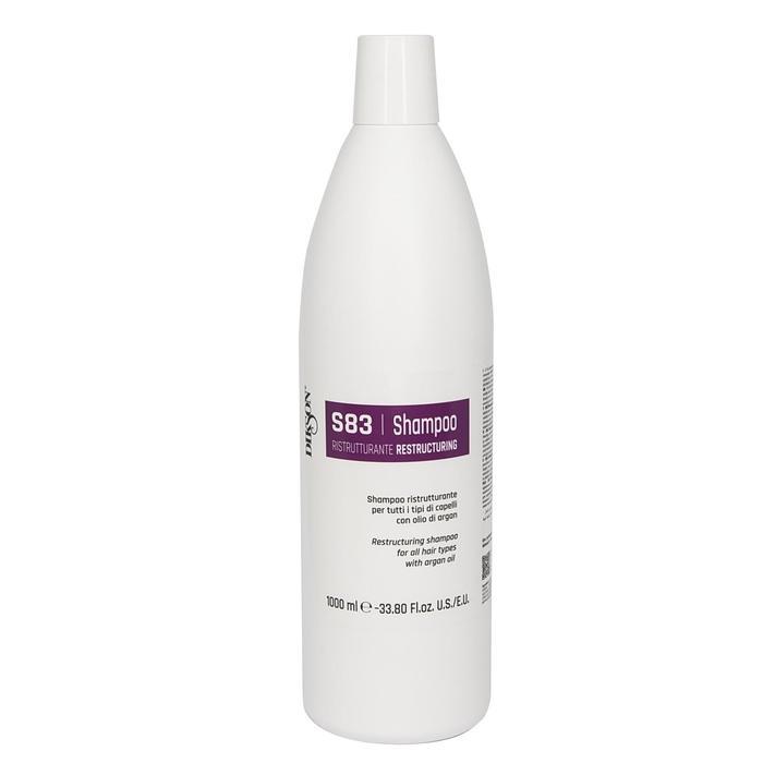 Шампунь для восстановления волос Dikson Ristrutturante S83, 1000 мл