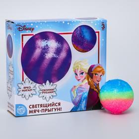 """Набор для опытов """"Светящийся мяч-прыгун"""", Холодное сердце, маленький, SL-04065"""