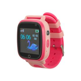 Смарт-часы Prolike PLSW11PN, детские, цветной дисплей 1.44', IP67, 400 мАч, розовые Ош
