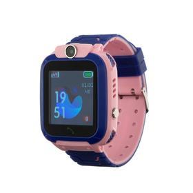 Смарт-часы Prolike PLSW12PN, детские, цветной дисплей 1.44', IP67, 400 мАч, розовые Ош
