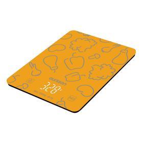 Весы кухонные Oursson KS1001GD/OR, электронные, до 10 кг, 2хААА, оранжевые