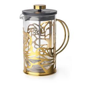 Френч-пресс для заваривания чая и кофе Apollo Genio Cite Gold, 600 мл
