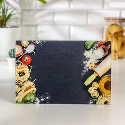 Доска разделочная Доляна «Фигаро», 30×20 см