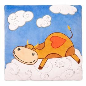 Мягкая игрушка-подушка «Бык Вивьен», 32х32 см