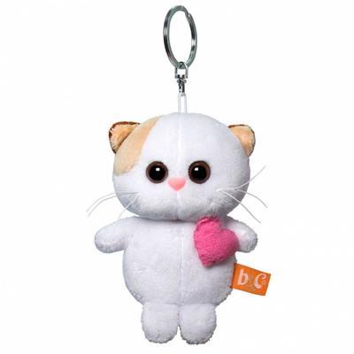 Мягкая игрушка-брелок «Кошечка Ли Ли брелок с розовым сердцем», 12 см - Фото 1