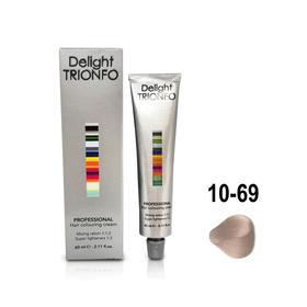 Крем-краска для окрашивания волос Constant Delight Delight Trionfo 10-69 светлый блондин шоколадно-фиолетовый, 60 мл