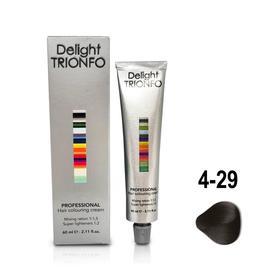 Крем-краска для окрашивания волос Constant Delight Delight Trionfo 4-29 средне-коричневый пепельно-фиолетовый, 60 мл