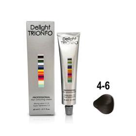 Крем-краска для окрашивания волос Constant Delight Delight Trionfo 4-6 средне-коричневый шоколадный, 60 мл