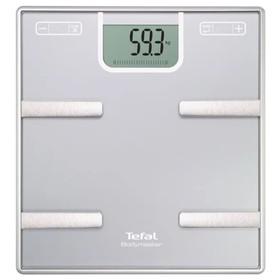 Весы Tefal BM6010, диагностические, шаг 100 гр, до 160 кг, ААА, память, серебристые