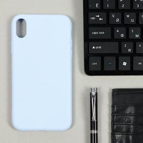 Чехол LuazON, для телефона iPhone XR, TPU, сиреневый