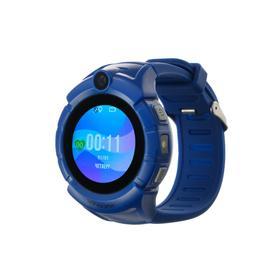 Смарт-часы Jet KID SPORT, детские, цветной дисплей 1.44', SIM-карта, камера, темно-синие Ош