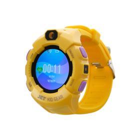 Смарт-часы Jet KID GEAR, детские, цветной дисплей 1.44' SIM-карта, камера, желто-фиолетовые Ош