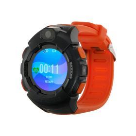 Смарт-часы Jet KID GEAR, детские цветной дисплей 1.44' SIM-карта, камера, оранжево-серые Ош