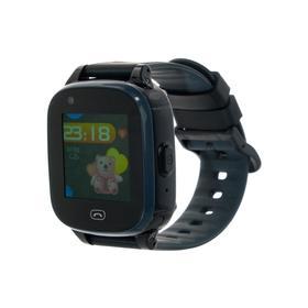 Смарт-часы Jet KID Vision 4G, цветной дисплей 1.44', SIM-карта, камера, чёрно-серые Ош