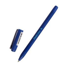 Ручка шариковая iZee, синий матовый корпус, металлич. клип, узел 0.7мм, чернила синие