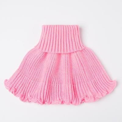 Манишка детская, цвет розовый - Фото 1