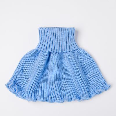 Манишка детская, цвет голубой - Фото 1
