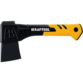 Универсальный топор KRAFTOOL Х5 20660-05, 550 г, 230 мм, рукоятка из армированного нейлона