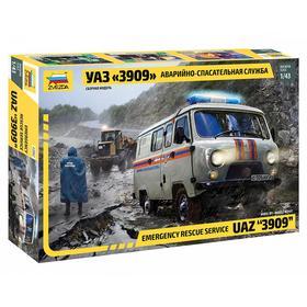 Сборная модель «УАЗ 3909 Аварийно-спасательная служба»
