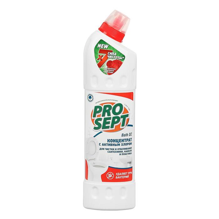 Bath DZ отбеливающий гель для чистки сантехники (кафеля,пластика,акрила).Концентрат 0,75л