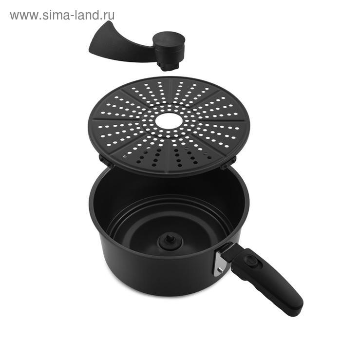 Аэрогриль Kitfort KT-2214, 1800 Вт, 80-200°C, 5 л, чёрный