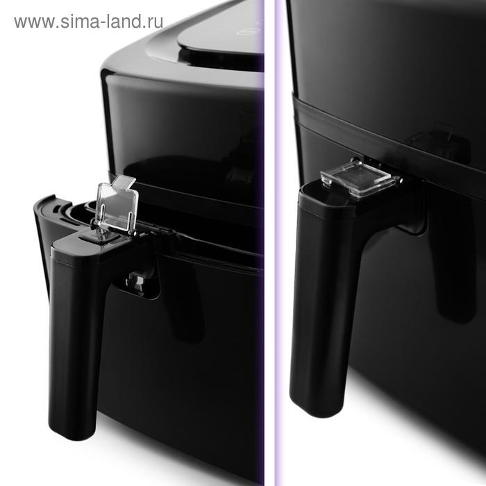 Аэрогриль Kitfort KT-2215, 1500 Вт, 80-200°C, 4.5 л, чёрный