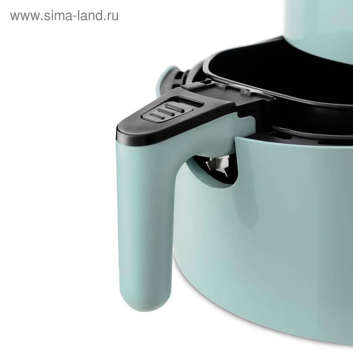 Аэрогриль Kitfort KT-2216, 1500 Вт, 80-190°C, 3.5 л, зелёный
