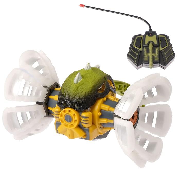 """Инопланетянин """"Мини-Химера"""", на радиоуправлении, с аккумулятором, световые и звуковые эффекты, цвета МИКС"""