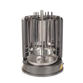 Электрошашлычница Kitfort KT-1404, 1400 Вт, 7 шампуров, серебристая Ош