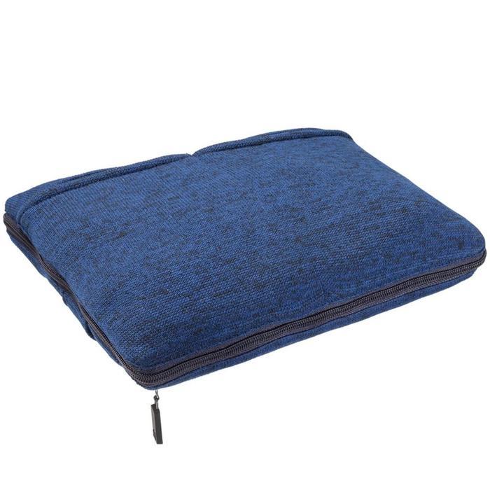 Дорожный плед onBoard, размер 82x140 см, цвет синий меланж