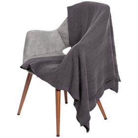 Плед Pleat, размер 110x170 см, цвет серый