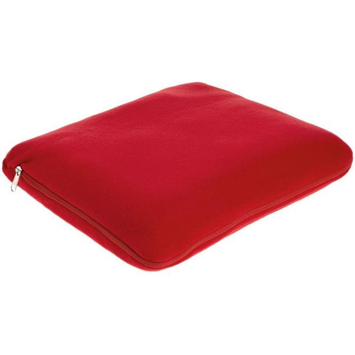 Дорожный плед Pathway, размер 130x150 см, цвет красный