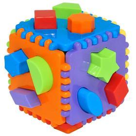 Игрушка-сортер развивающая Educational cube, 24 детали