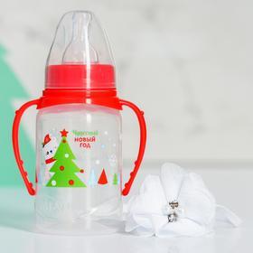 Набор для малышки 'Мишка': бутылочка для кормления 150 мл и повязка на голову Ош