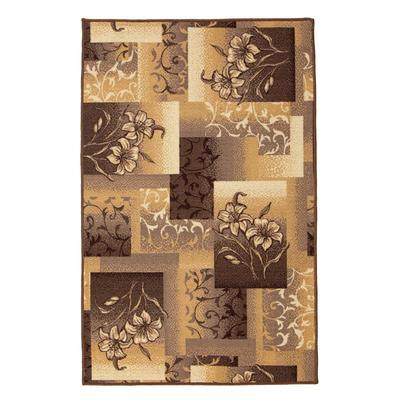 Палас «ЛАНА» размер 100х150 см, цвет бежевый, войлок - Фото 1