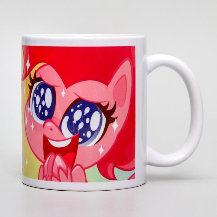 """Кружка сублимация """"Пинки Пай"""", My Little Pony, 350 мл"""