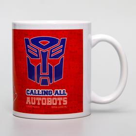 Кружка сублимация Autobots, Transformers, 350 мл