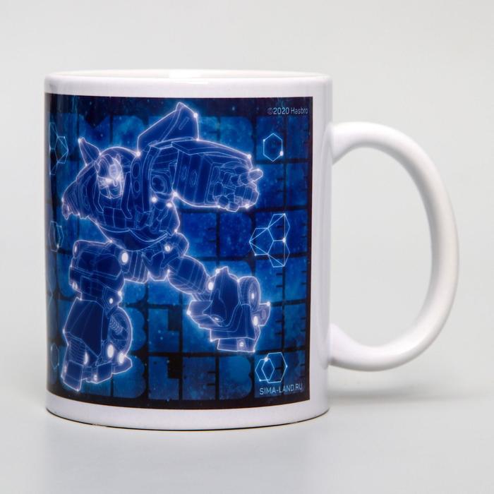 """Кружка сублимация """"Бамблби"""", Transformers, 350 мл"""