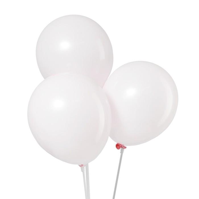 Шар латексный 12 Макарун, набор 5 шт., цвет розовый