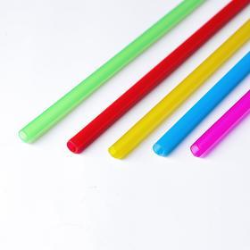 Трубочка для шаров, флагштоков и сахарной ваты, 41 см, d=6 мм, цвета МИКС Ош