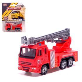 Машина металлическая «Пожарная служба»