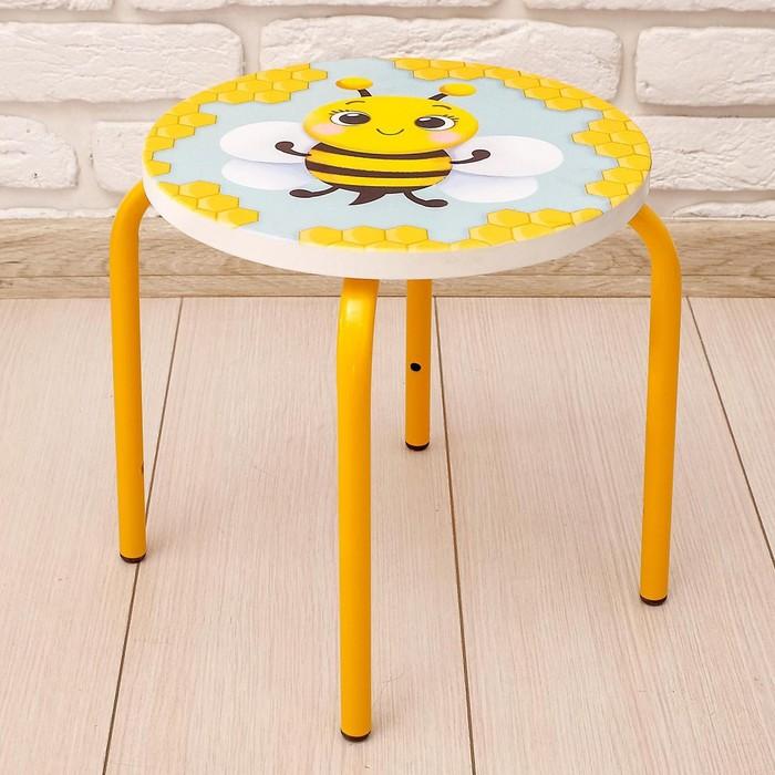 Стул-табурет «Пчёлка», на металлокаркасе
