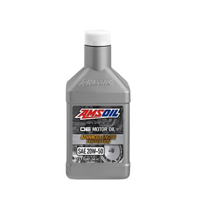Моторное масло AMSOIL OE Synthetic Motor Oil SAE 20W-50, 0,946л - Фото 1