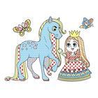 Волшебные водные раскраски «Принцессы» - Фото 2