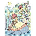 Волшебные водные раскраски «Птицы» - Фото 3