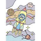 Волшебные водные раскраски «Космос» - Фото 3